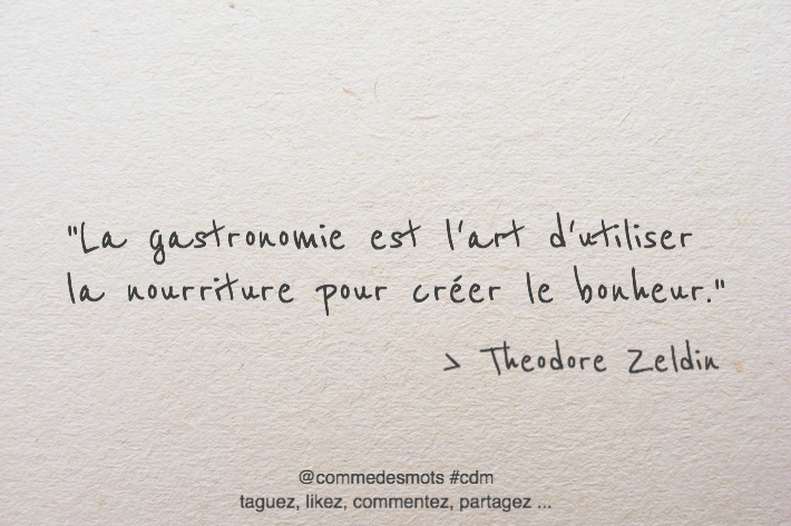 citation gastronomie