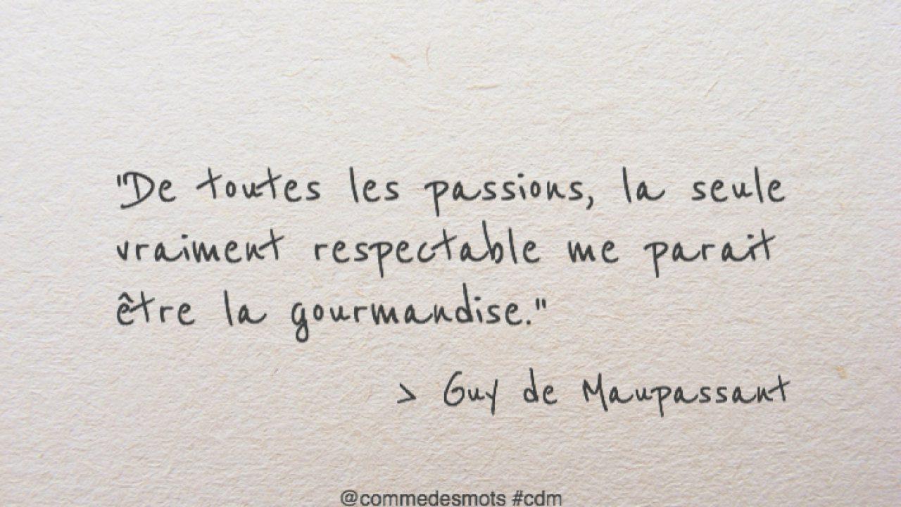Passion Gourmandise Comme Des Mots