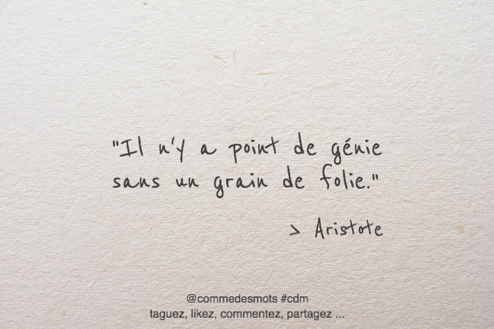 citation grain de folie