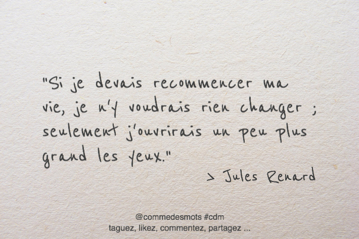 citation ma vie
