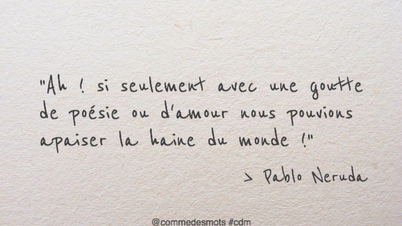 Une Goutte De Poesie Ou D Amour Comme Des Mots