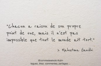 citation raison / tort