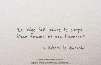citation robe