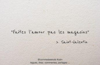 citation Saint-Valentin