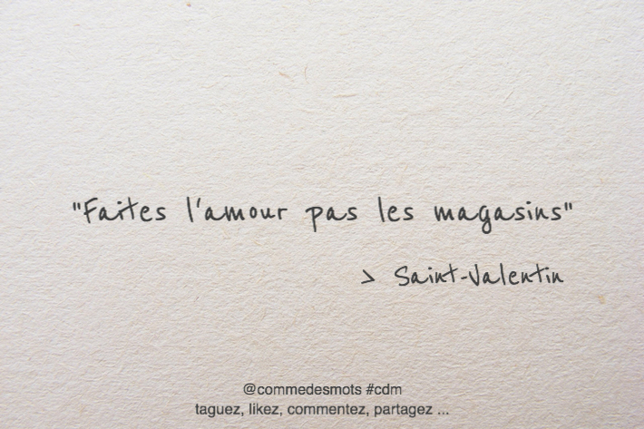 citation Saint-Valentin
