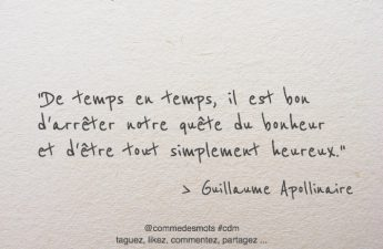 citation simplement heureux