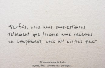 citation sous-estimons