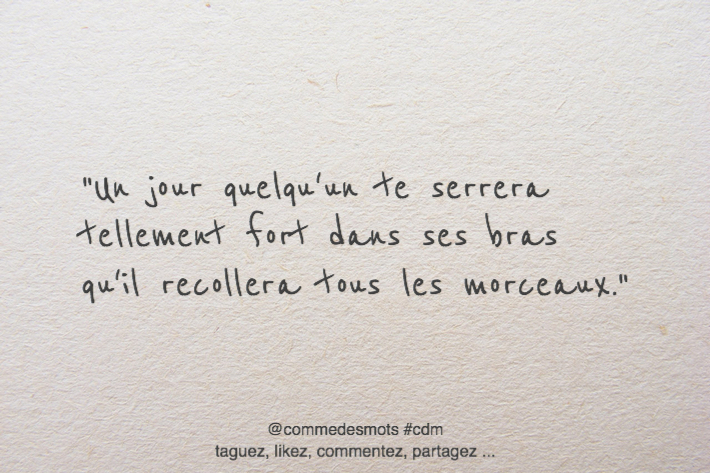 citation un jour un calin