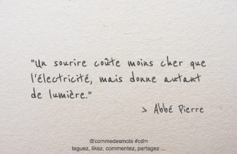 citation un sourire