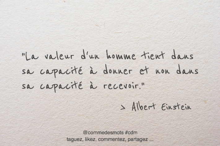 citation valeur