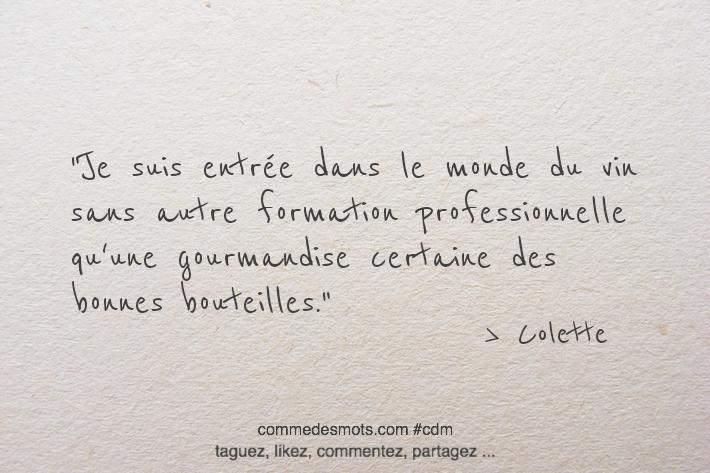 Citation de Colette