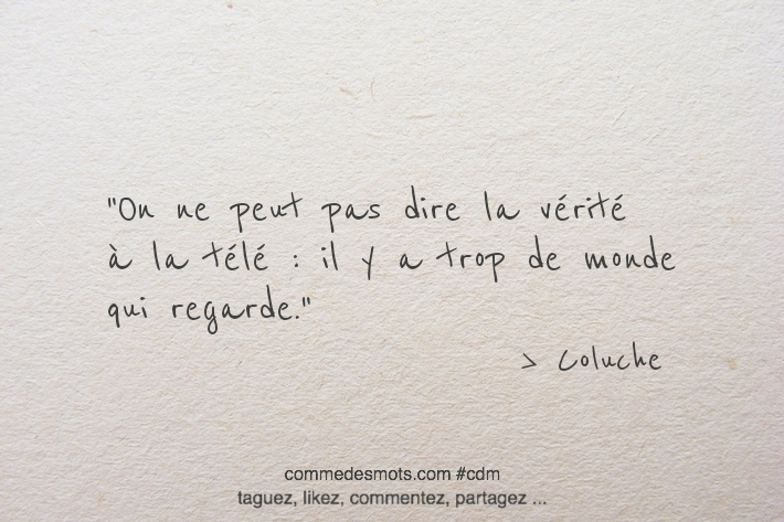citation de Coluche