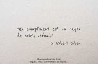 Un compliment