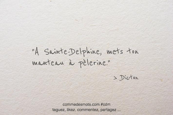 A Sainte-Delphine