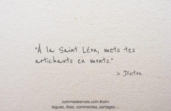 À la Saint Léon