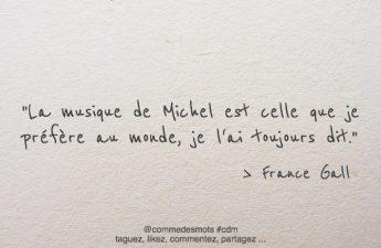 La musique de Michel