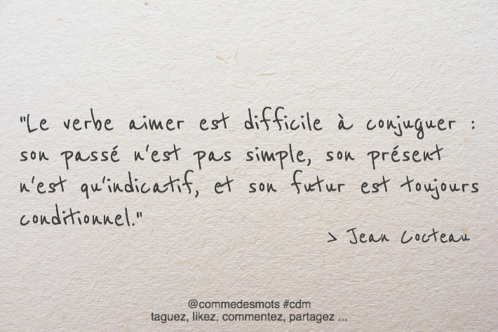 citation de Jean Cocteau
